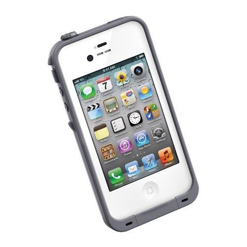 防水なのにTouchID対応 LifeProof fre ホワイト iPhone 4s/4ケース