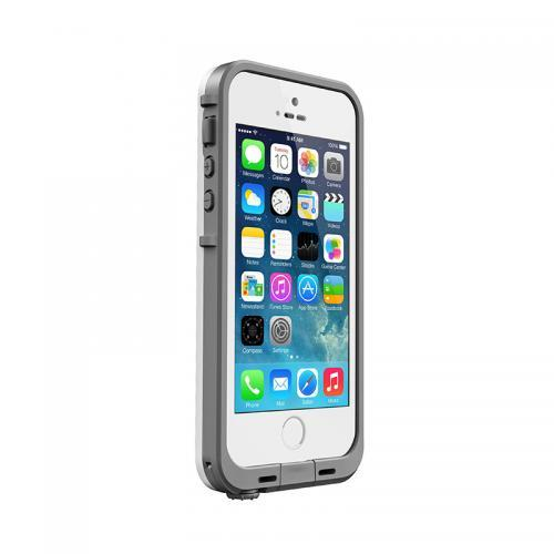 iPhone SE/5s/5 ケース 防水なのにTouchID対応 LifeProof fre ホワイト/グレイ iPhone SE/5s/5ケース_0