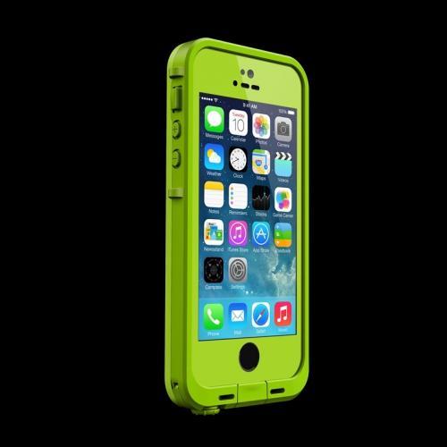 iPhone SE/5s/5 ケース 防水なのにTouchID対応 LifeProof fre ダークライム/ライム iPhone SE/5s/5ケース_0