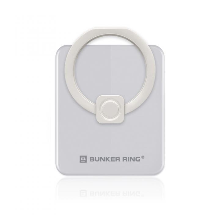 BUNKER RING Edge スマホリング 落下防止 Silver_0