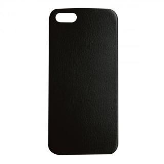極薄1.3mmPUレザーケース Zula ブラック iPhone SE/5s/5ケース