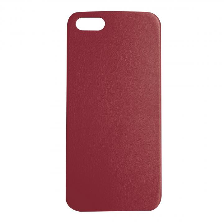 iPhone SE/5s/5 ケース 極薄1.3mmPUレザーケース Zula ワインレッド iPhone SE/5s/5ケース_0