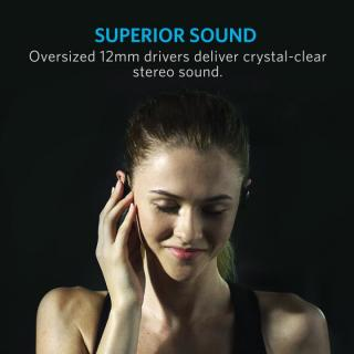 Anker SoundBuds Sport NB10 スポーツ用 Bluetoothイヤホン ブラック_2