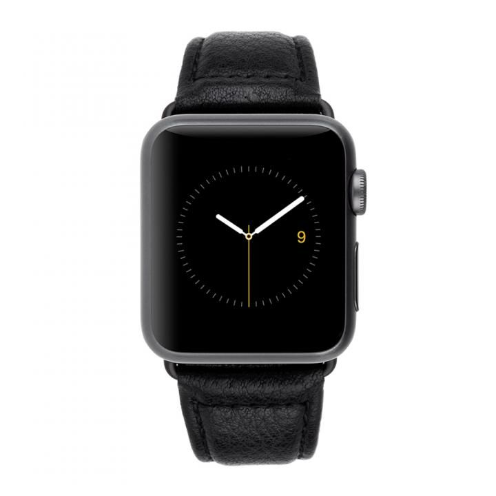 Case-Mate 38mm Apple Watch band Black Pebbled Leather