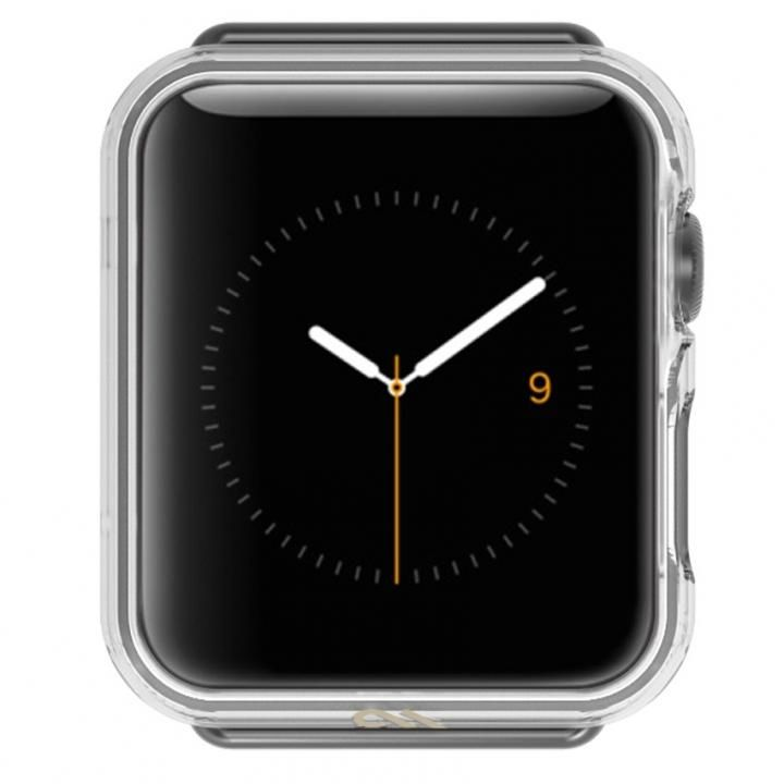 Case-Mate 38mm Apple Watch TPUケース Tough Naked Bumper_0