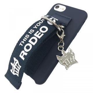 【iPhone8/7/6s/6ケース】RODEO CROWNS ベルト付きシリコンケース ネイビー iPhone 8/7/6s/6_2