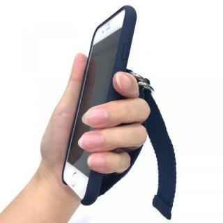 【iPhone8/7/6s/6ケース】RODEO CROWNS ベルト付きシリコンケース ネイビー iPhone 8/7/6s/6_11