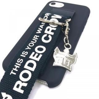 【iPhone8/7/6s/6ケース】RODEO CROWNS ベルト付きシリコンケース ネイビー iPhone 8/7/6s/6_12