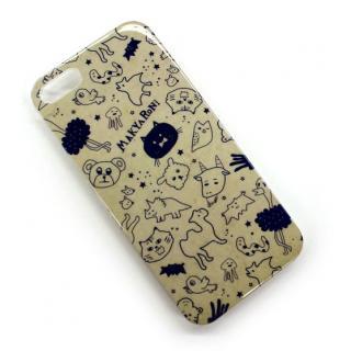MAKYARONI モバイルケース iPhone5 ブラウン