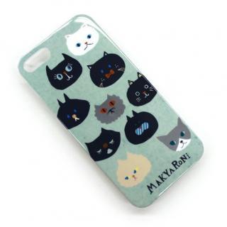 MAKYARONI モバイルケース iPhone5 ブルー