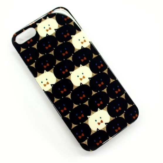 MAKYARONI モバイルケース iPhone SE/5s/5 ブラック