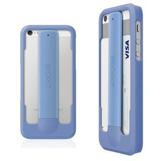 iPhone SE/5s/5 ケース RollingCase  iPhone5(ツートンブルー)