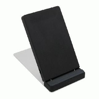 iPhoneの7.5W急速充電に対応 卓上スタンド型 Qi ワイヤレス充電器 OWL-QI10W03【10月下旬】