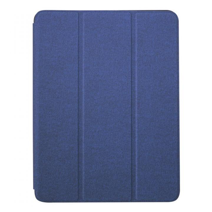 第6世代 iPad 9.7インチ対応Apple Pencil収納用ペンホルダー付き ネイビー_0