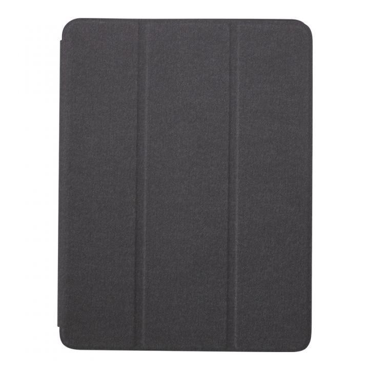 第6世代 iPad 9.7インチ対応Apple Pencil収納用ペンホルダー付き ブラック_0