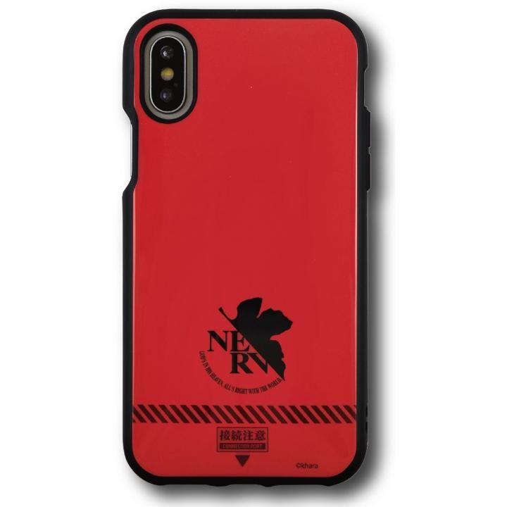 iPhone X ケース ヱヴァンゲリヲン新劇場版 IIIIfi+(R)(イーフィット)  ネルフ/レッド iPhone X_0