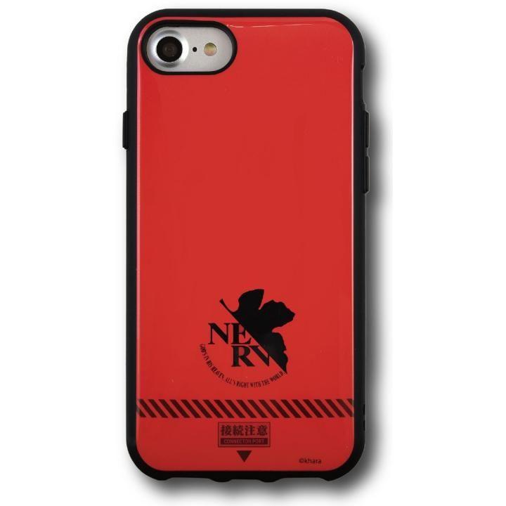 iPhone8/7/6s/6 ケース ヱヴァンゲリヲン新劇場版 IIIIfi+(R)(イーフィット)  ネルフ/レッド iPhone 8/7/6s/6_0
