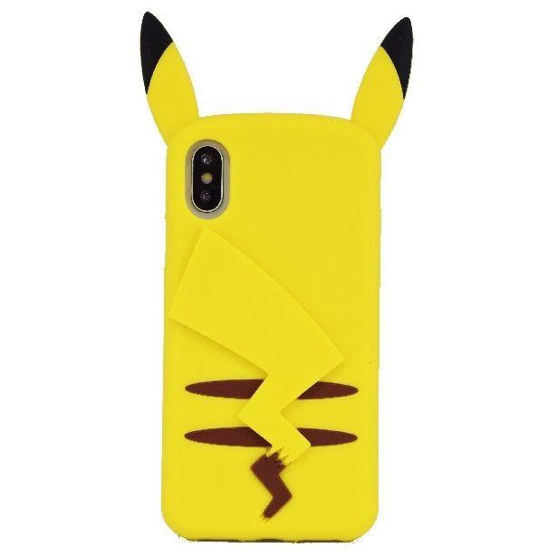 iPhone X ケース ポケットモンスター シリコンケース ピカチュウ iPhone X_0