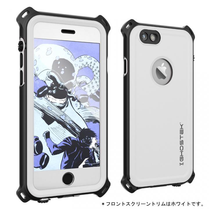 iPhone6s/6 ケース 防水/防雪/防塵/耐衝撃ケース IP68準拠 Ghostek Nautical ホワイト iPhone 6s/6_0