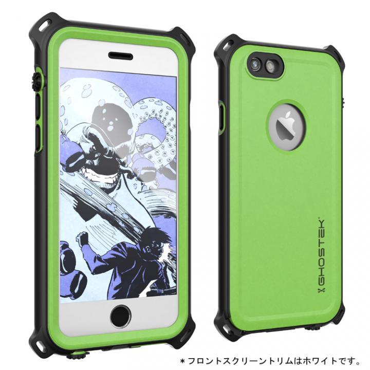 iPhone6s/6 ケース 防水/防雪/防塵/耐衝撃ケース IP68準拠 Ghostek Nautical グリーン iPhone 6s/6_0