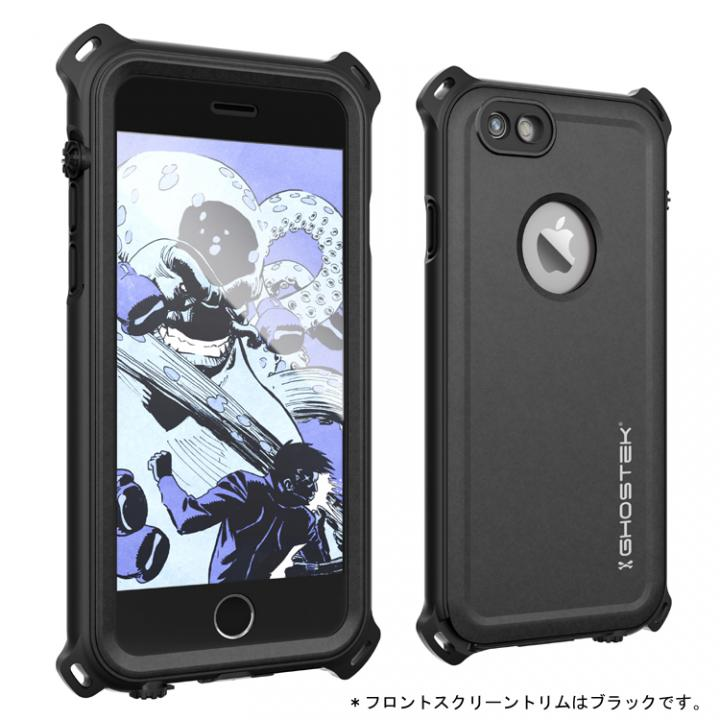 iPhone6s/6 ケース 防水/防雪/防塵/耐衝撃ケース IP68準拠 Ghostek Nautical ブラック iPhone 6s/6_0