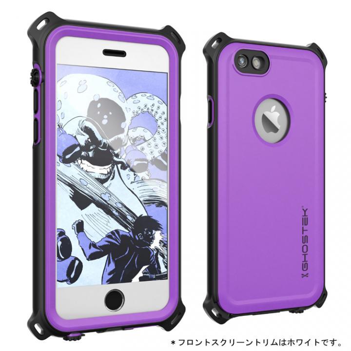iPhone6s/6 ケース 防水/防雪/防塵/耐衝撃ケース IP68準拠 Ghostek Nautical パープル iPhone 6s/6_0