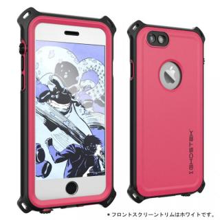 防水/防雪/防塵/耐衝撃ケース IP68準拠 Ghostek Nautical ピンク iPhone 6s/6【8月下旬】