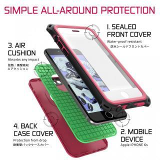 【iPhone6s/6ケース】防水/防雪/防塵/耐衝撃ケース IP68準拠 Ghostek Nautical ピンク iPhone 6s/6_2