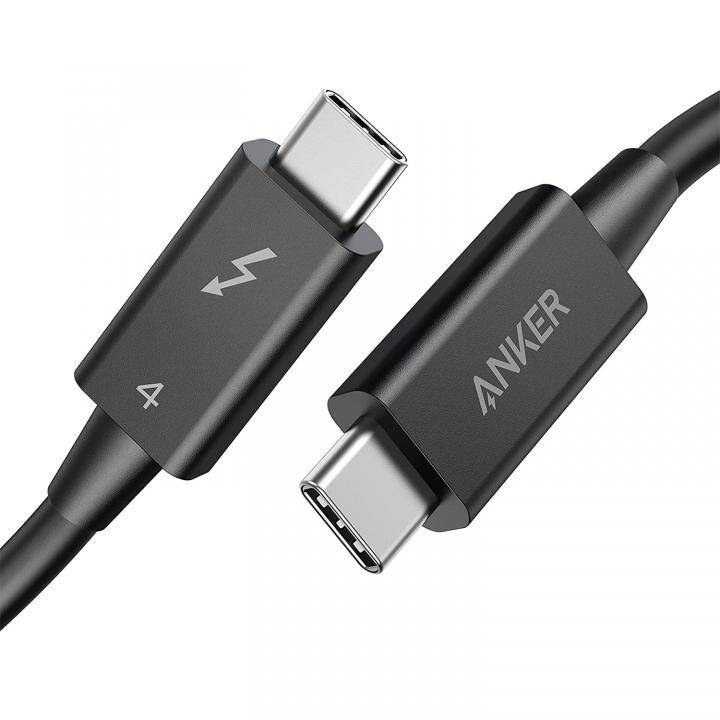 Anker USB-C & USB-C Thunderbolt 4 100W ケーブル ブラック_0