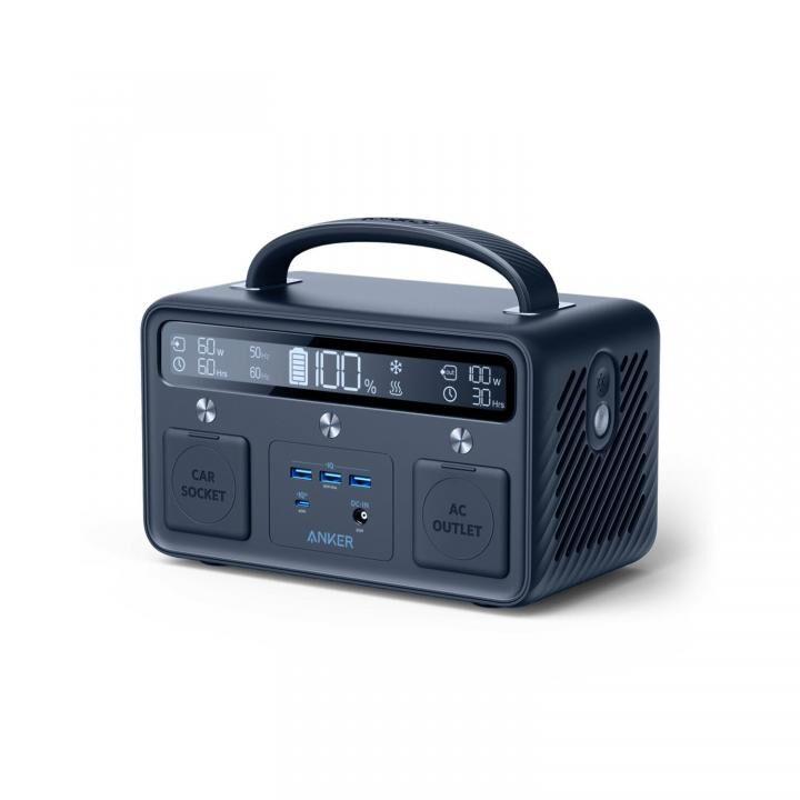 Anker PowerHouse II 400 Plus 389Wh ポータブル電源 ダークブルー_0