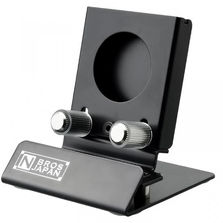 N'BROS Apple Watch横置き充電スタンド ナイトモード専用版 ブラック_0