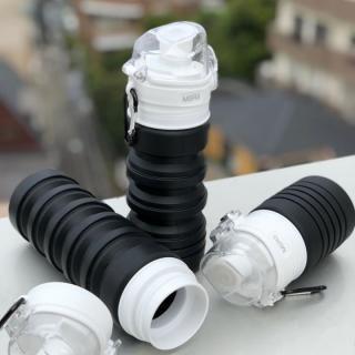 BPAフリー シリコン製 水筒 AQUA_hack