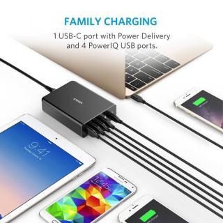 Anker PowerPort+ 5 USB-C Power Delivery対応 ブラック_3