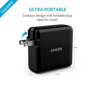 Anker PowerPort 4  40W 4ポート USB急速充電器 ブラック_4