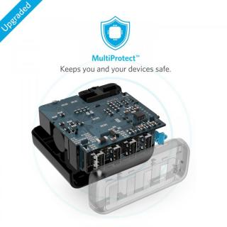 Anker PowerPort 4  40W 4ポート USB急速充電器 ブラック_5