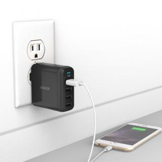 Anker PowerPort 4  40W 4ポート USB急速充電器 ブラック_7