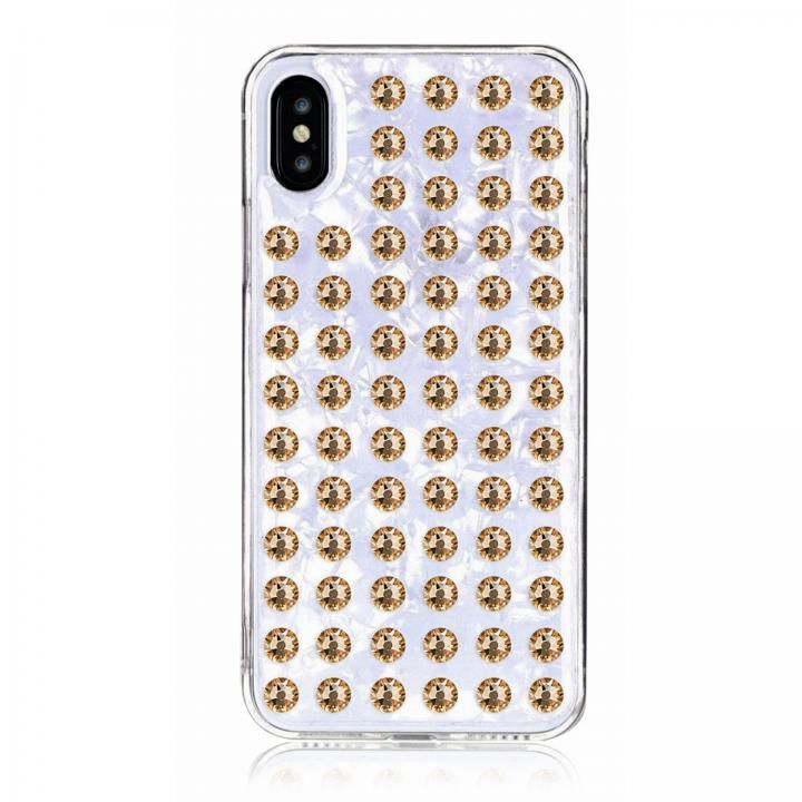 iPhone XS/X ケース Bling My Thing Extravaganza ホワイト/GOLD iPhone XS/X_0
