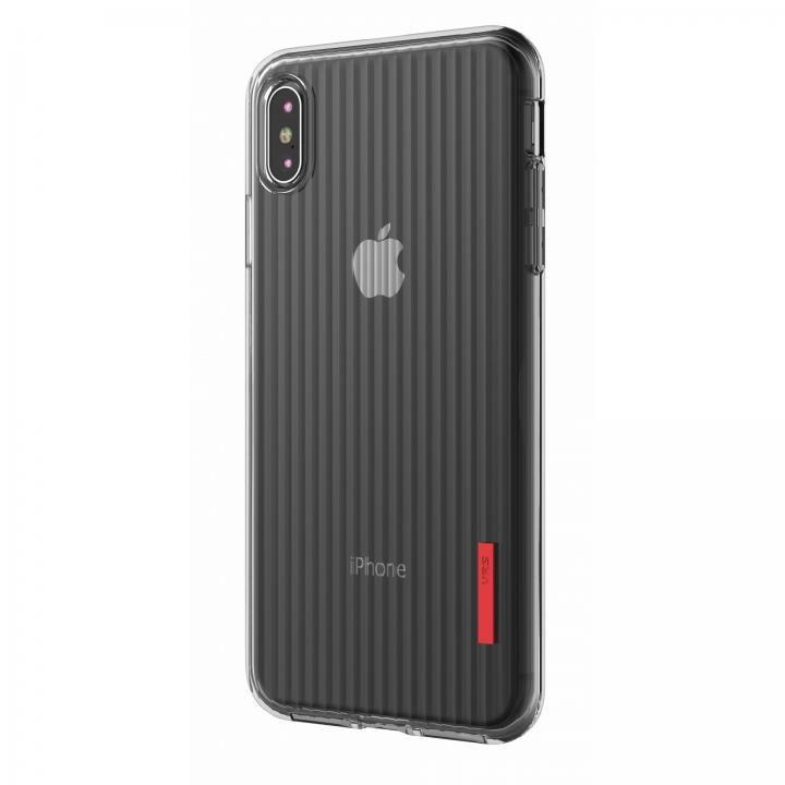 iPhone XS Max ケース VRS DESIGN(VERUS) Crystal Fit Label クリアTPUケース iPhone XS Max_0