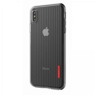 iPhone XS Max ケース VRS DESIGN(VERUS) Crystal Fit Label クリアTPUケース iPhone XS Max