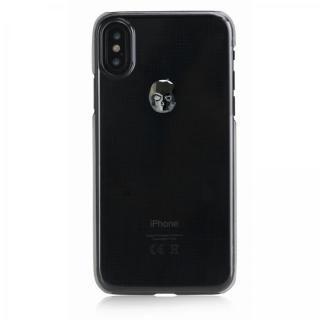Bling My Thing Treasure スワロフスキー クリア/HEMATITE SKULL iPhone XS Max【11月上旬】