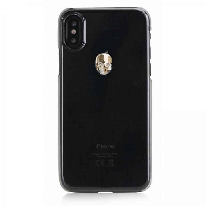iPhone XS Max ケース Bling My Thing Treasure スワロフスキー クリア/GOLD SKULL iPhone XS Max_0