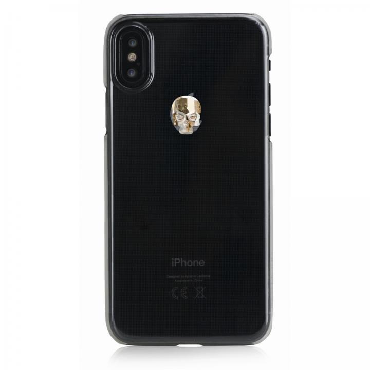 iPhone XS Max ケース Bling My Thing Treasure スワロフスキー クリア/GOLD SKULL iPhone XS Max_0