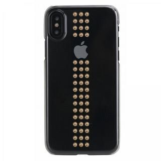 Bling My Thing Stripe スワロフスキークリア/GOLD iPhone XS Max【11月上旬】