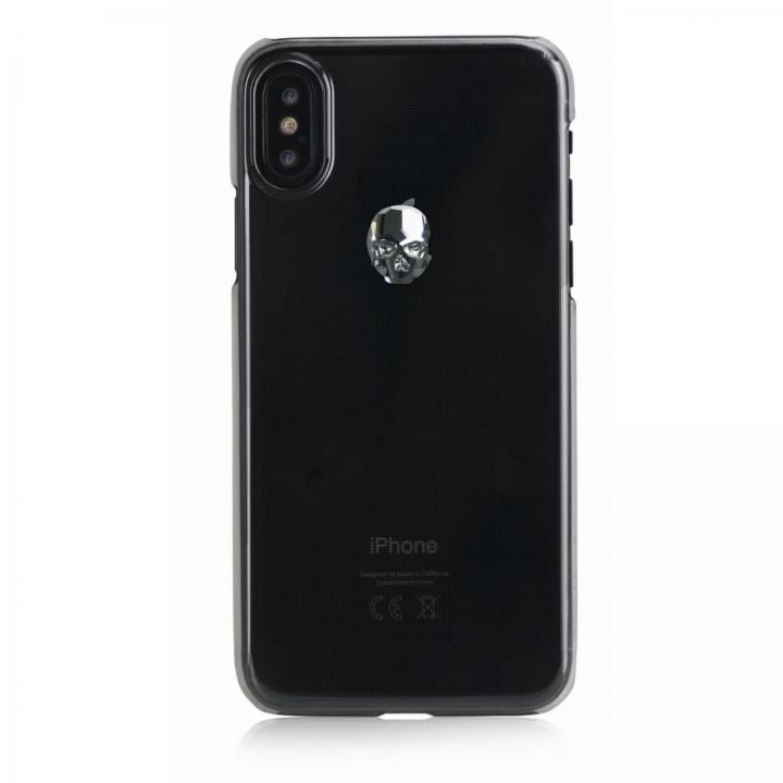 iPhone XS Max ケース Bling My Thing Treasure スワロフスキー クリア/SILVER SKULL iPhone XS Max_0
