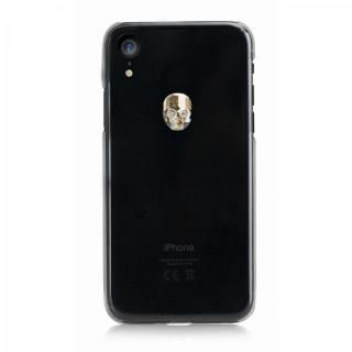 【iPhone XRケース】Bling My Thing Treasure スワロフスキー クリア/GOLD SKULL iPhone XR【11月上旬】