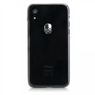 【iPhone XRケース】Bling My Thing Treasure スワロフスキー クリア/SILVER SKULL iPhone XR【11月上旬】