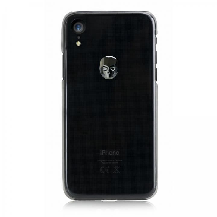 iPhone XR ケース Bling My Thing Treasure スワロフスキー クリア/HEMATITE SKULL iPhone XR_0