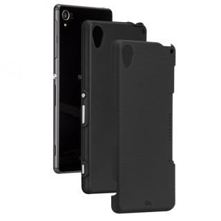 ハイブリッドタフケース ブラック/ブラック Xperia Z3_5