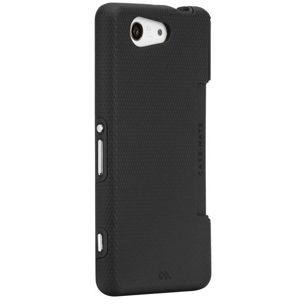 ハイブリッドケース ブラック/ブラック Xperia Z3 Compact_0