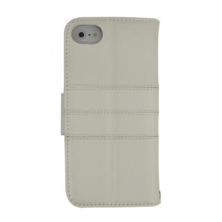 kuboq ICカード対応 本革手帳型ケース ホワイト iPhone SE/5s/5ケース